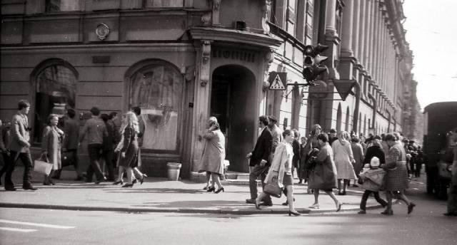 Кафе Сайгон в Ленинграде