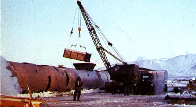 Авария самолёта с ядерным оружием над базой Туле