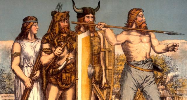 Фризы — самый древний народ германцев