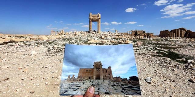 Зачем люди в чёрном уничтожают древние реликвии?