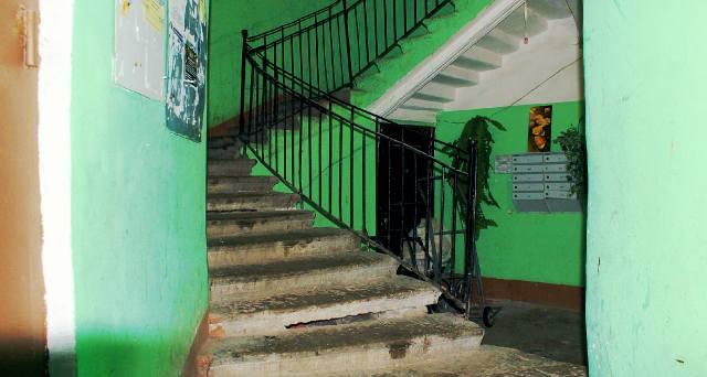 Чёрная лестница в Петербурге