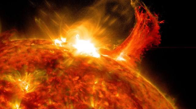 Взрывы на Солнце