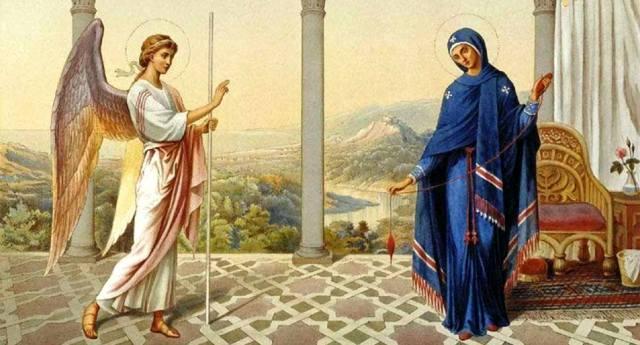 Благовещение Пресвятой Богородицы — история праздника