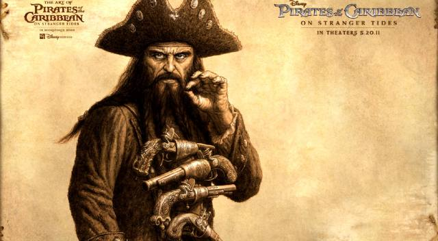 Эдвард Тич: Пират Чёрная Борода