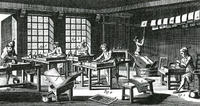 Бумага — история возникновения