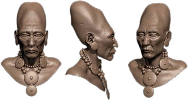 Вытянутые черепа у племён