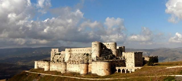 Крепость Крак-де-Шевалье в Сирии: Замок рыцарей-госпитальеров