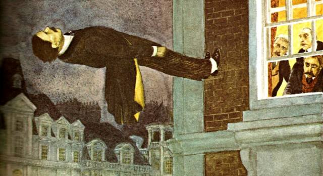 Дэниел Хьюм — медиум, парящий в воздухе