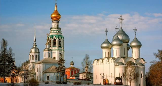 Православные святыни Вологды