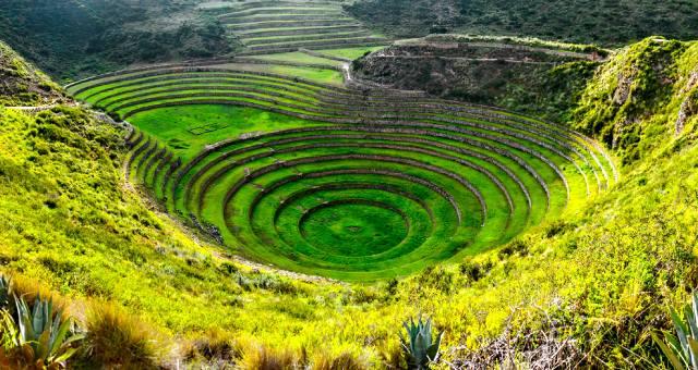 Террасы Морай — технология строительства в Перу