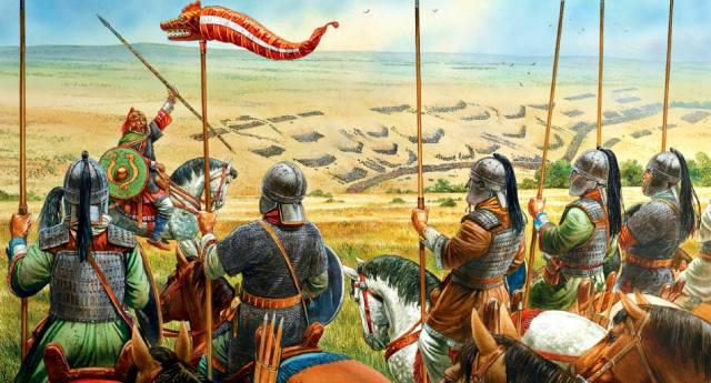 Народ барсилы: Предки татар