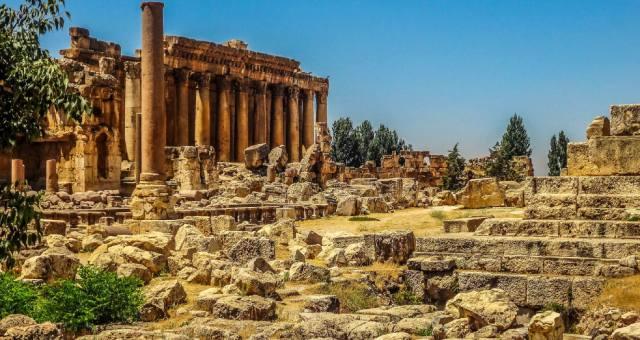 Баальбек — город и мегалиты в Ливане