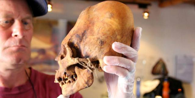 Вытянутые черепа древних народов