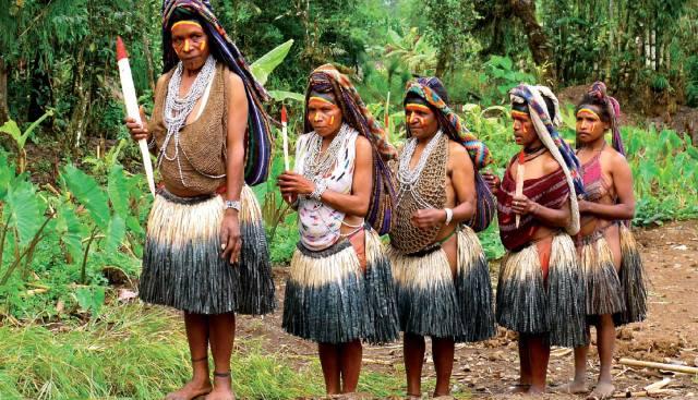 Ириан-Джая: Племена людоедов в Новой Гвинее
