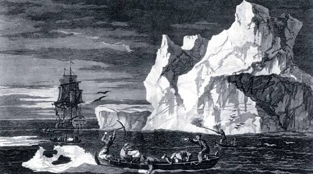 Джеймс Кук: Плаванье вокруг Антарктиды