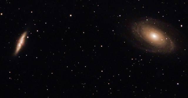 Галактика М82: Сигара Боде