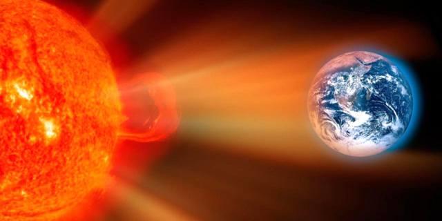 Солнечная активность и её влияние на Землю