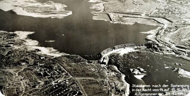Днепрогэс: Кто предотвратил полный взрыв плотины в 1943?