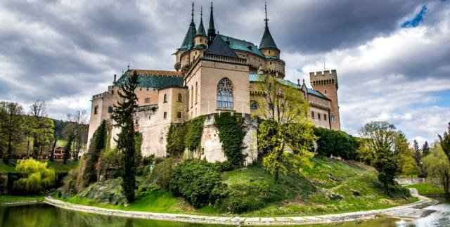 Бойницкий замок: Призрак графа Пальфи
