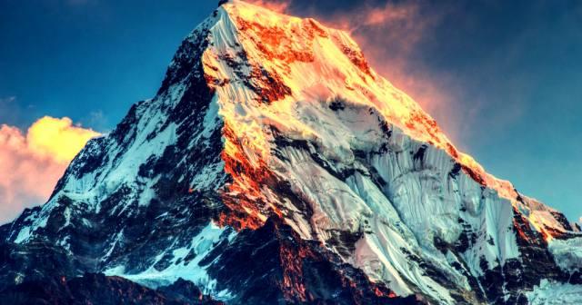 Эверест — высочайшая гора Земли