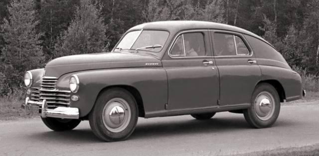 Советский автомобиль Победа — история
