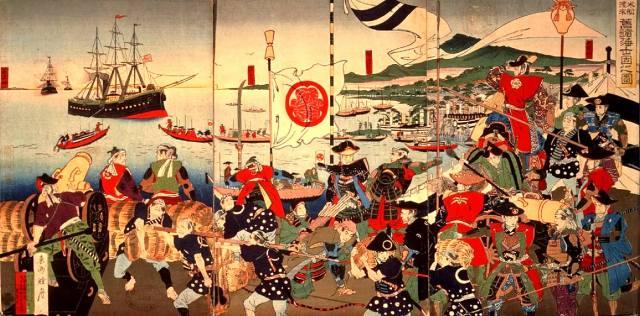 Как Япония стала колониальной страной?