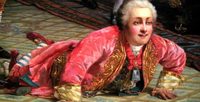 Шут Педрилло императрицы Анны Иоанновны