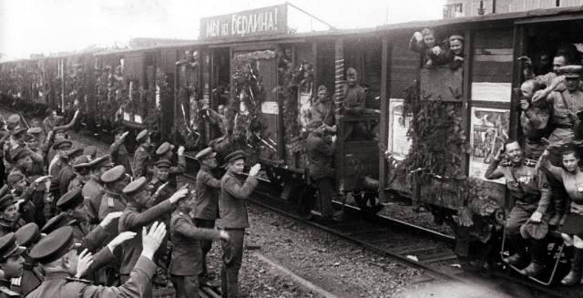 Демобилизация в СССР после войны 1941-1945