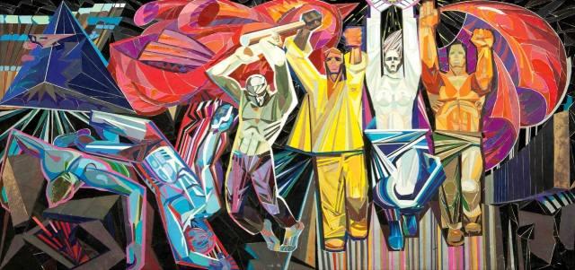 Советская живопись — от авангарда к реализму