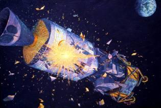 Фото: авария корабля Аполлон-13 — интересные факты