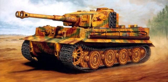Тигр — самый мощный танк Второй мировой войны