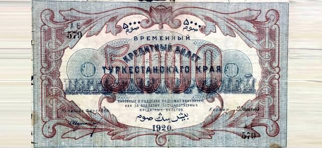 Туркестан — деньги и монеты Средней Азии