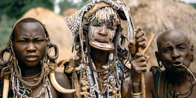 Африканское племя Мурси — народ Эфиопии