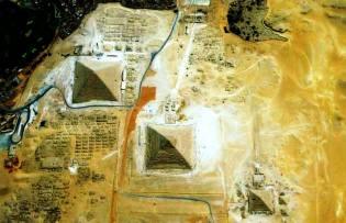 Фото: пирамиды со спутника, интересные факты
