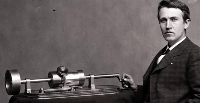 Фонограф — история изобретения