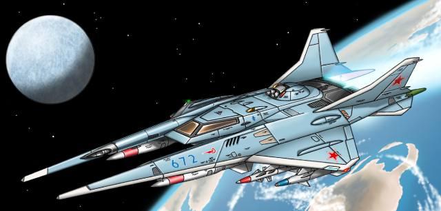 Боевые космические корабли — история создания