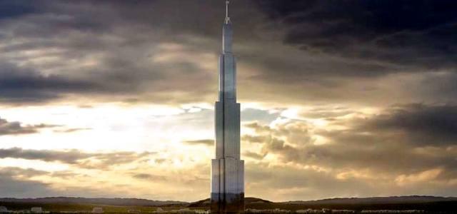 Небесный город в Китае: Самый высокий небоскрёб мира