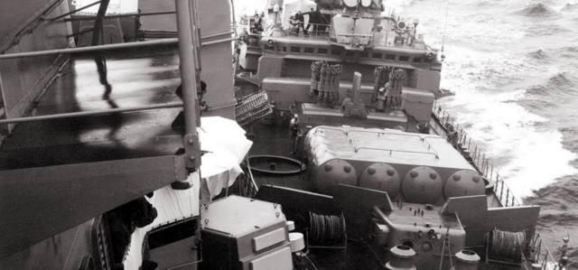 Провокация кораблей США против СССР в Чёрном море