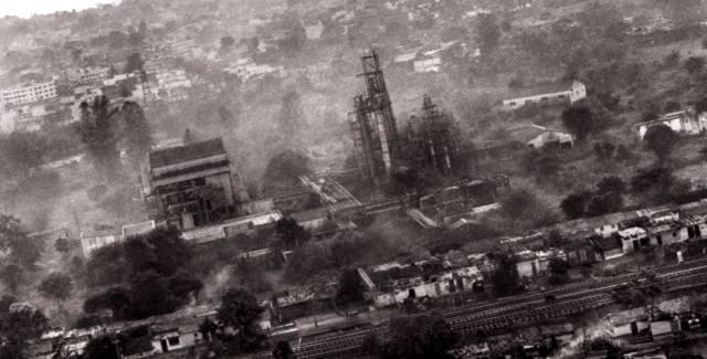 Бхопал — химическая авария в Индии