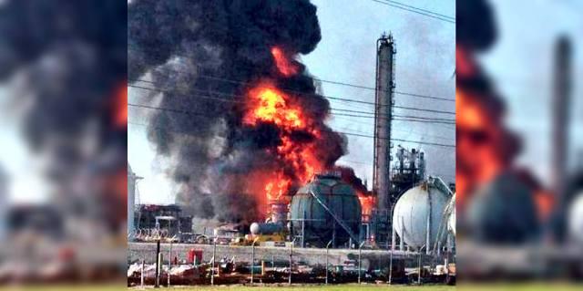 Куйбышевазот — взрыв и пожар в Тольятти 1993 года