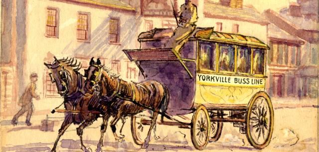 Как появился общественный транспорт?