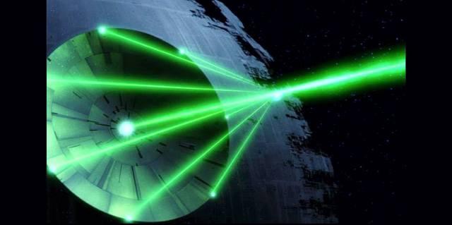 Передача энергии лазером из космоса на Землю