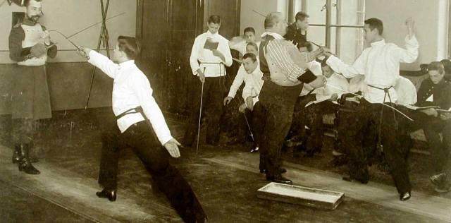 Учитель фехтования — история ремесла