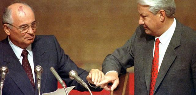Горбачёв и Ельцин: Распад СССР — причины и последствия