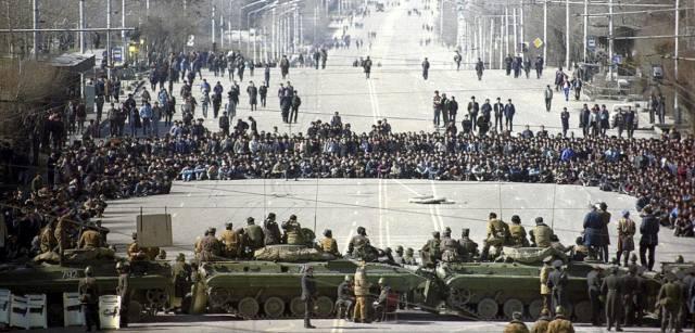 Массовые беспорядки в Душанбе в 1990 году