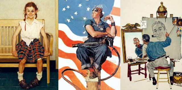 Норман Роквелл — картины художника