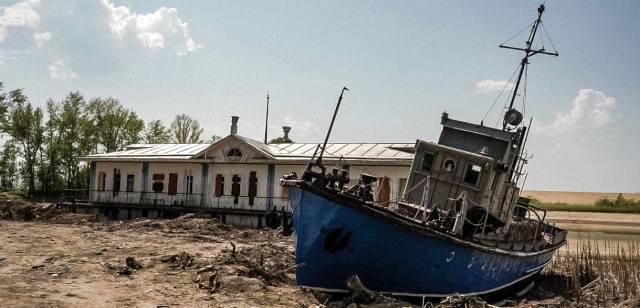 Почему исчезла река Волга?