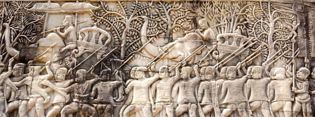 Барельефы Ангкор-Ват: Загадки древних ликов