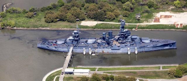 Линкор Техас — корабль-музей