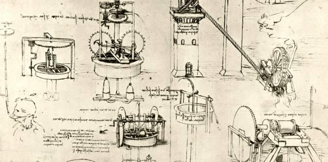 Удивительные аппараты Леонардо да Винчи
